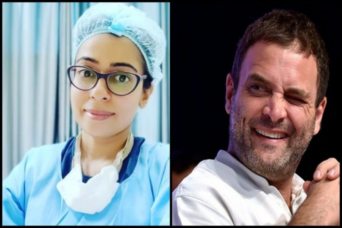 One Kamna Kakkar and Rahul Gandhi spread panic about protective gear and N95 masks for doctors amidst Coronavirus outbreak