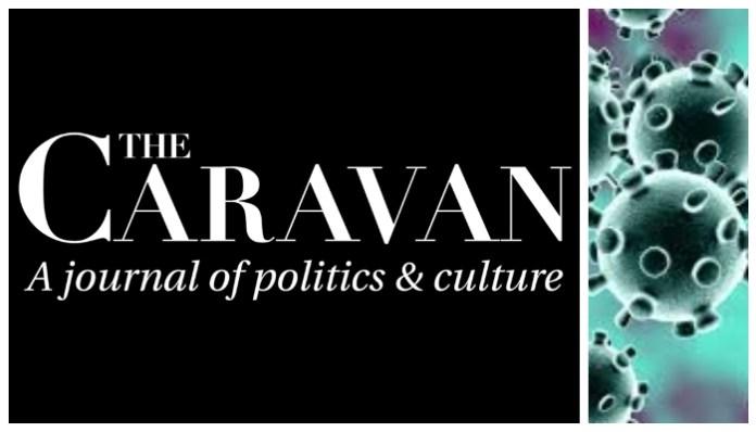 Caravan Magazine on coronavirus