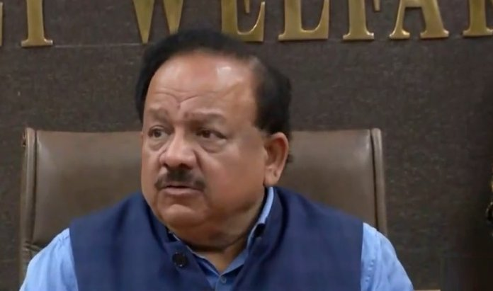 coronavirus press conference Harsh Vardhan