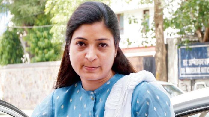 Congress leader Alka Lamba abuses Olympic medalist Yogeshwar Dutt