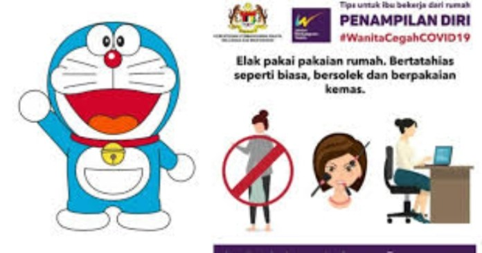 Malaysian government was criticised for the grossly sexist and condescending ads issuing stay at home advisories to women