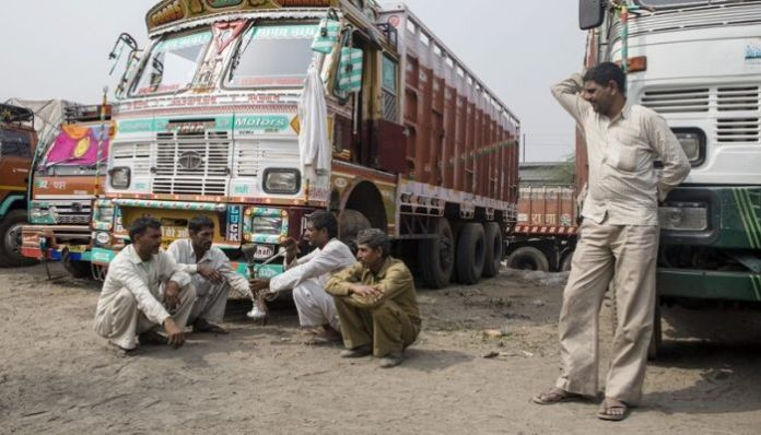 Vijayawada: Bored truck drivers socialise with friends,infects 40 people