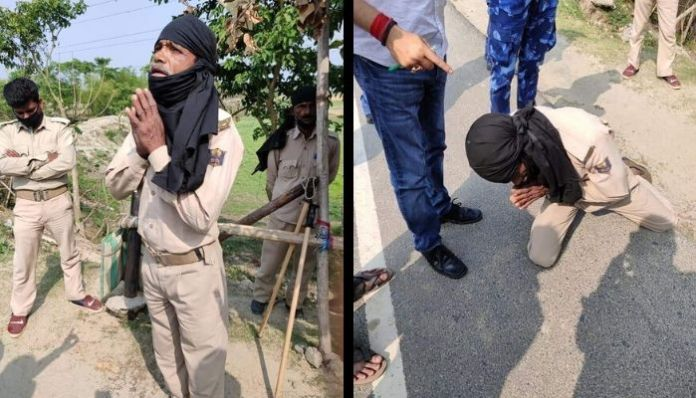 Bihar: Constable becomes victim of VVIP culture, forced to do sit-ups