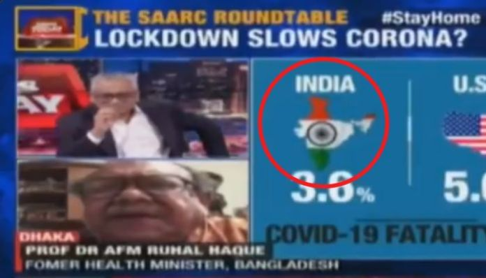 India Today displays distorted map of India, removes POK from J&K