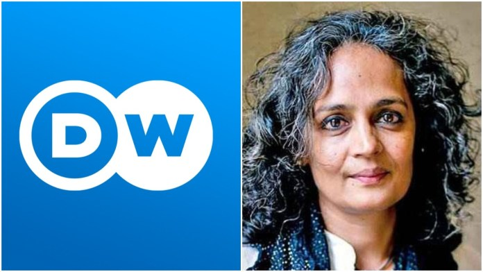"""German channel peddles lies of Arundhati Roy hallucinating about a 'Muslim genocide' in India, """"hides"""" responses that show the havoc wreaked by Muslims"""