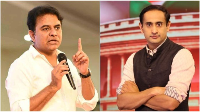 KT Ramarao calls Rahul Kanwal's claims about Telangana's PPEs inventory 'disgraceful journalism'