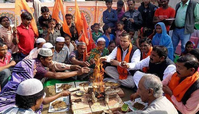 40 Muslim families convert to Hinduism in Hissar, Haryana