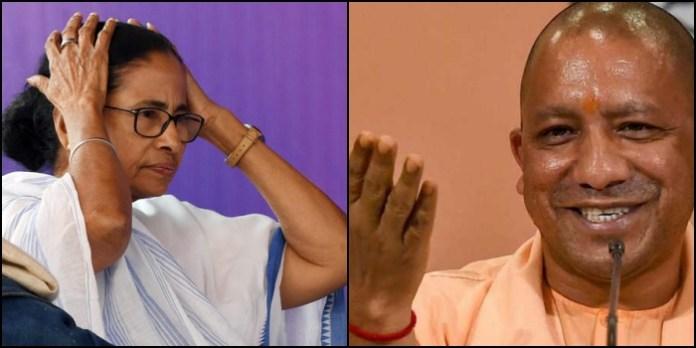 Here is how media's war on Yogi Adityanath became a headache for Bengal CM Mamata Banerjee