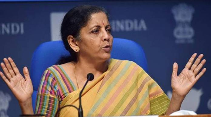 Nirmala Sitharaman lost her temper at the Congress party over the migrants crisis