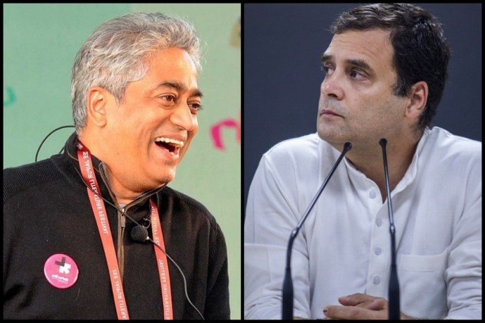 Rajdeep Sardesai says Rahul Gandhi press interaction was 'unscripted' - He lied