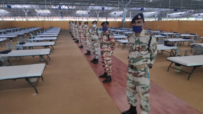 ITBP has taken over operations at the 10,000-bed Radha Soami Beas COVID care facility