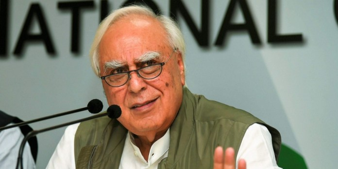 Kapil Sibal says media should not have right to freedom of speech and expression