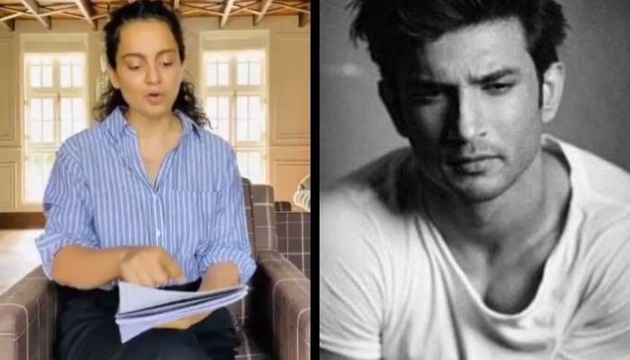 Kangana Ranaut lashes out at media for blind items on Sushant Singh Rajput