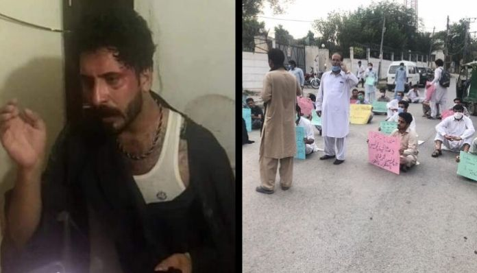 Afghan man thrashed, stripped by cops in Pakistan; three arrested