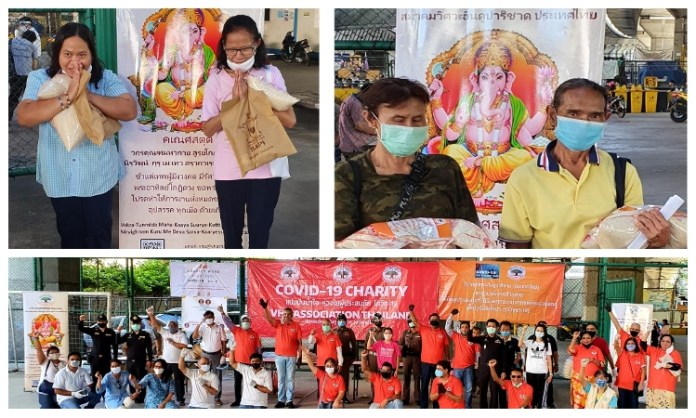 Vishwa Hindu Parishad's Thailand chapter has been reaching out to vulnerable families affected by the pandemic with food and supplies