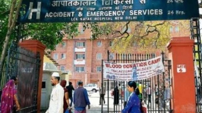 India TV report reveals horrifying visuals from Delhi's LNJP hospital, a dedicated COVID-19 hospital