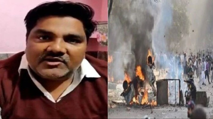 Chargesheet filed against Tahir Hussain in Delhi Riots case