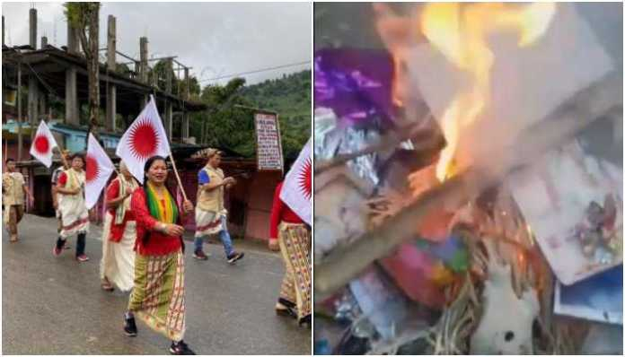 On July 4, a pastor of the Pentecostal church had allegedly burned down the altar of the Goddess Ain Donyi in Seppa, Arunachal Pradesh