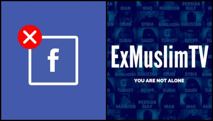 Facebook de-platforms page that shared videos of ex-Muslims talking about how they were persecuted after they left Islam