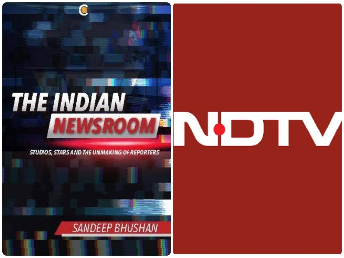 The Indian Newsroom, a book by Sandeep Bhushan brings to fore the strange nexus between the Congress party and the NDTV media channel