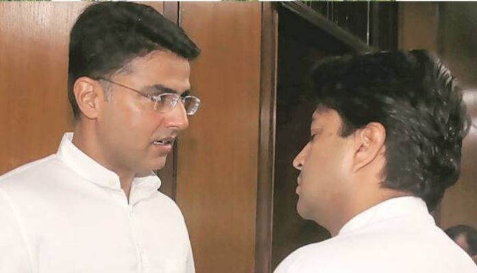 Amidst political crisis, Sachin Pilot meets another rebel Jyotiraditya Scindia