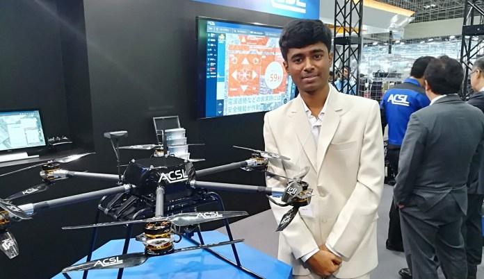 Prathap NM drone boy