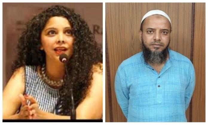 Rana Ayyub played the victim card over Khalid Saifi