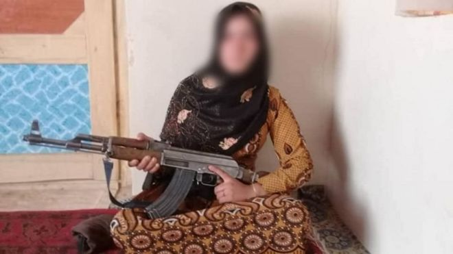 Teenage Afghan girl kills Taliban terrorists, praised by the government