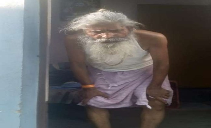 Kanti Prasad, the caretaker of a Shiv Temple beaten to death by one Anas Qureshi