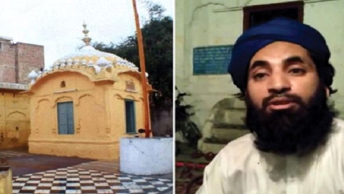 A Maulvi is reportedly trying to take over the historic Gurudwara in Lahore