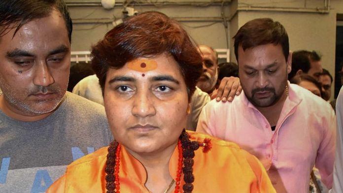 MSM and liberals distort Sadhvi Pragya's call for chanting Hanuman Chalisa