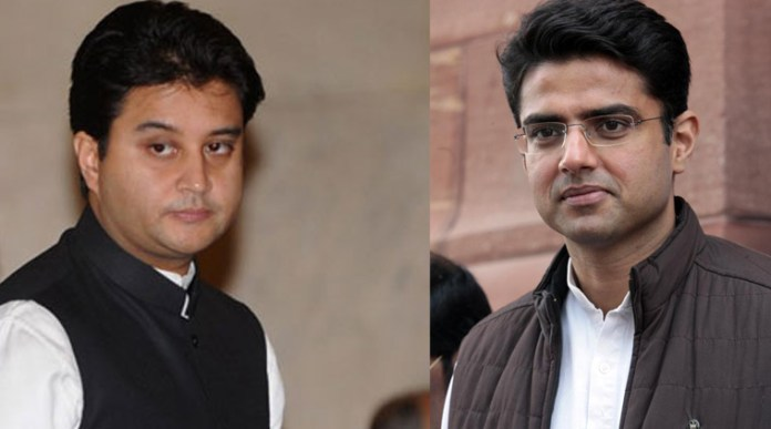 Jyotiraditya Scindia claims Sachin Pilot is being sidelined by the Congress party