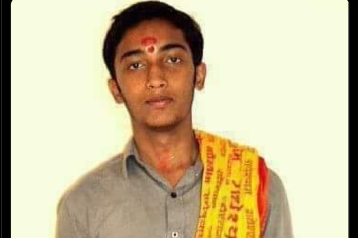 Vishal Kumar was murdered by Campus Front of India goons, the parent organisation of which is PFI