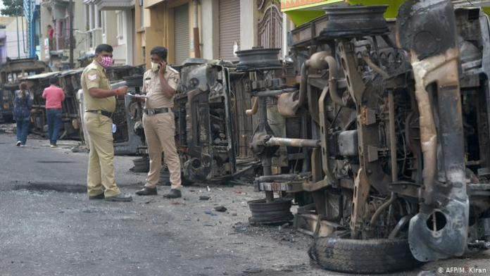 Bangalore riots: Accused Samiuddin has links with terror outfit Al-Hind