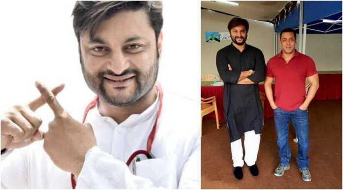 Odisha MP Anubhav Mohanty is a die-hard fan of Salman Khan