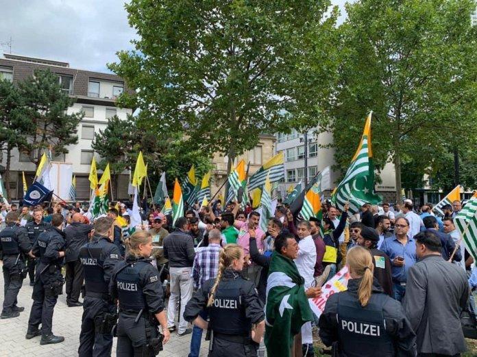Pakistan-sponsored anti India rally in Germany