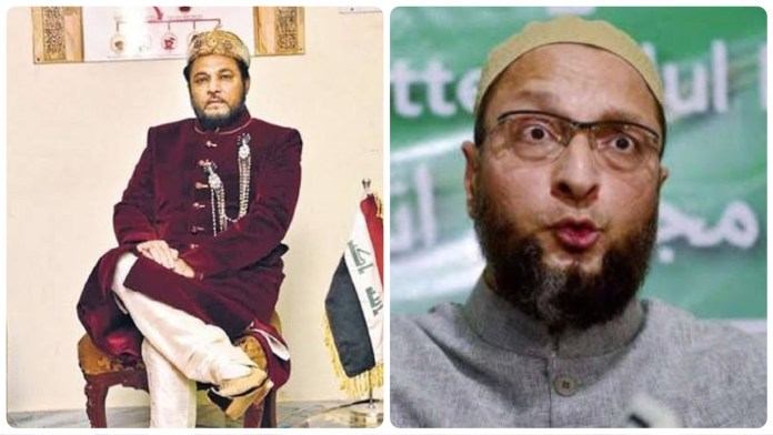 'Mughal Prince Tucy' calls Asaduddin Owaisi a Bewakoof and Gadha for being busy in Bihar elections when Hyderabad people are suffering with floods
