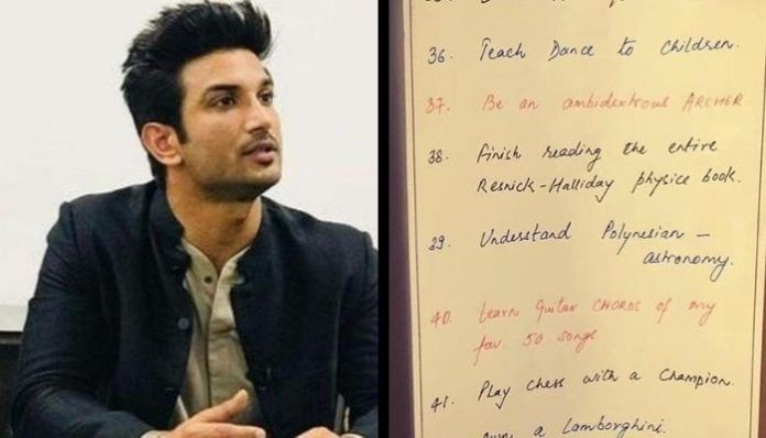 Four pages of the diary of Sushant Singh Rajput missing : Reports