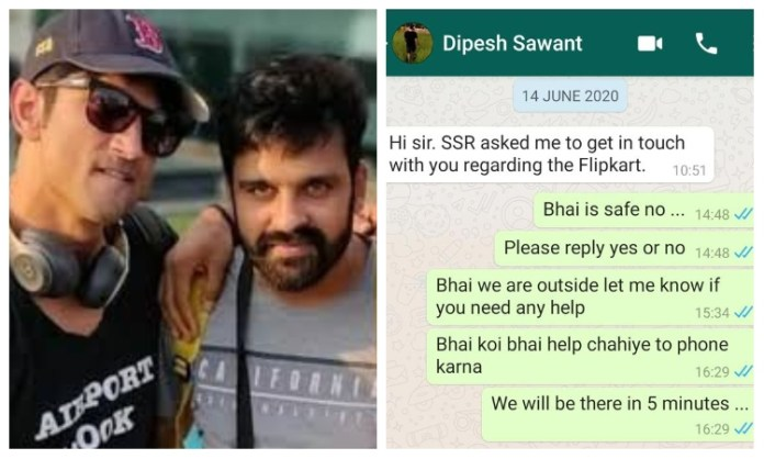 WhatsApp chats of Dipesh Sawant accessed by media