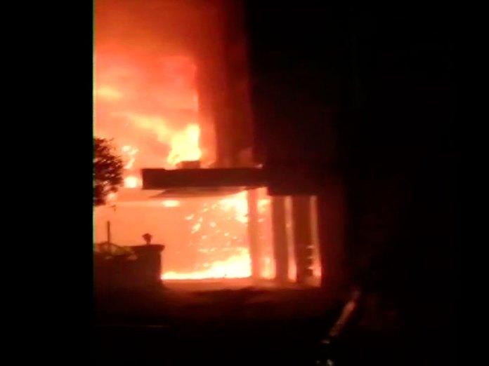 Fire broke at hotel in AP
