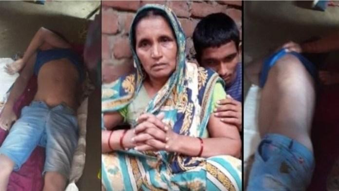 Urmila Devi, a widow, has alleged in her FIR that three local Muslim boys had killed her son