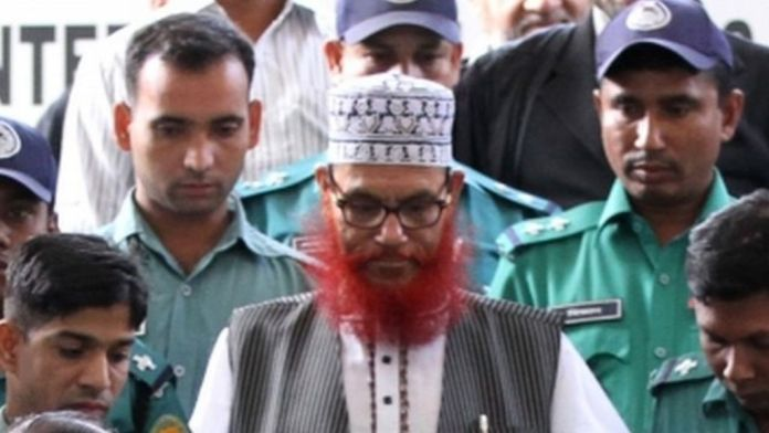 Campaign being run to seek the release of Bangladesh war crime Delwar Hossain Sayeedi