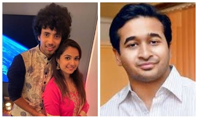 Nitesh Rane writes letter to Amit Shah demanding security for Disha Salian's fiance Rohan Rai