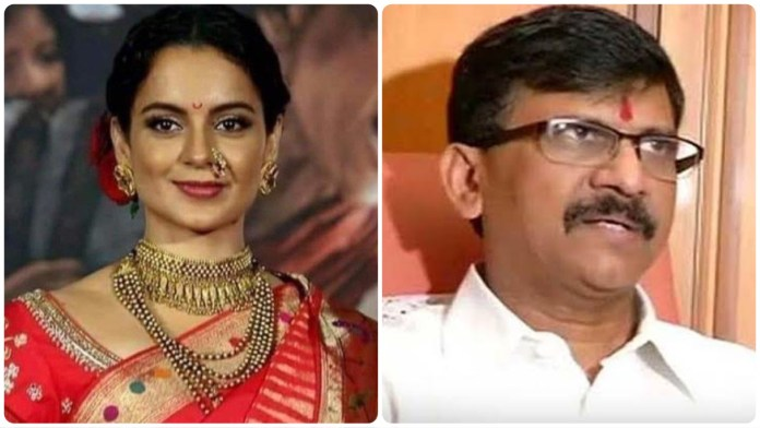 """Sanjay Raut coins a new definition of """"haramkhor"""" to brazen out his crass remarks against actor Kangana Ranaut"""