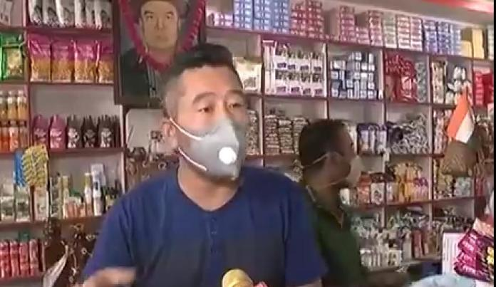 People boycott chinese products in Arunachal Pradesh