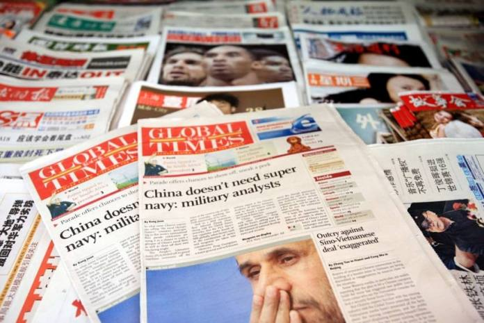 Global Times suffers meltdown after Indian army refutes Chinese allegations