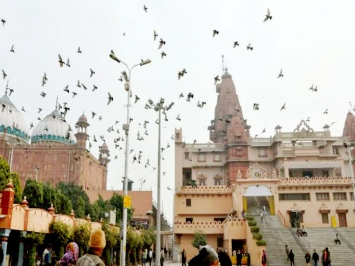 Petition filed for reclamation of Krishna Janmabhoomi land in Mathura court