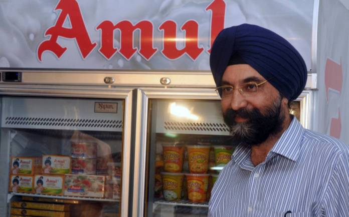 Amul Chief RS Sodhi supports farm bill, says a free market helps farmer prosper