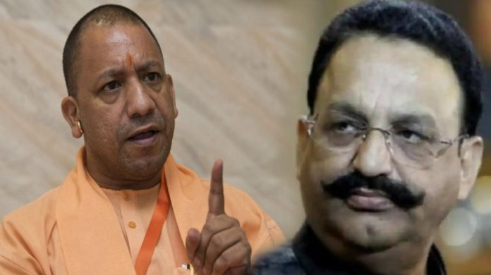 Mukhtar Ansari booked under Gangster Act