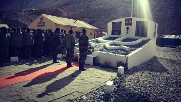 New war memorial built in DBO, Ladakh, to commemorate the sacrifices of 20 soldiers who died fighting Chinese PLA in Galwan Valley